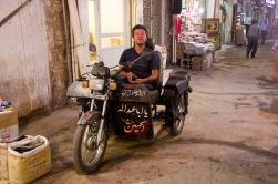 Ein umgebautes Motorrad - oder besser zwei Motorräder